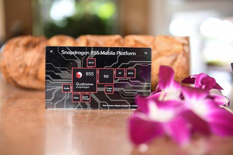 snapdragon 855 mobile platform plaque aloha
