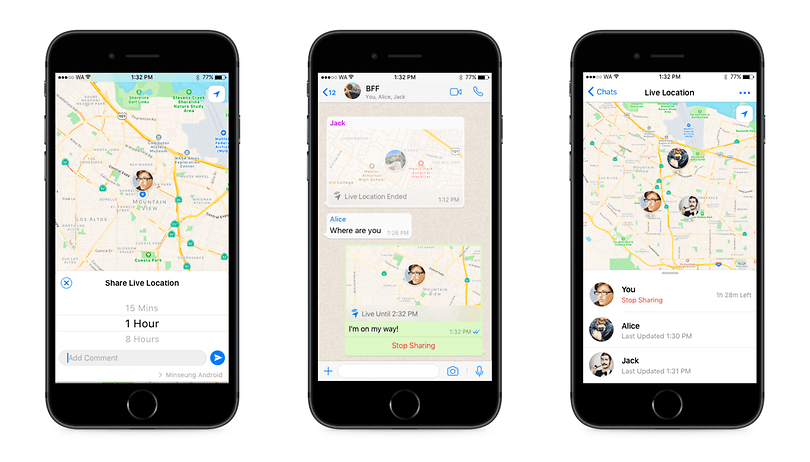 WhatsApp tip: How to share your 'Live location' in real time