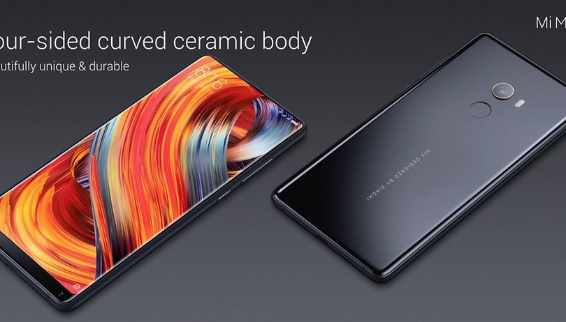 Xiaomi Mi Mix 2: stylish, fast and nearly bezel-less
