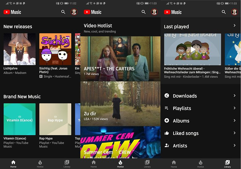 youtube music neu