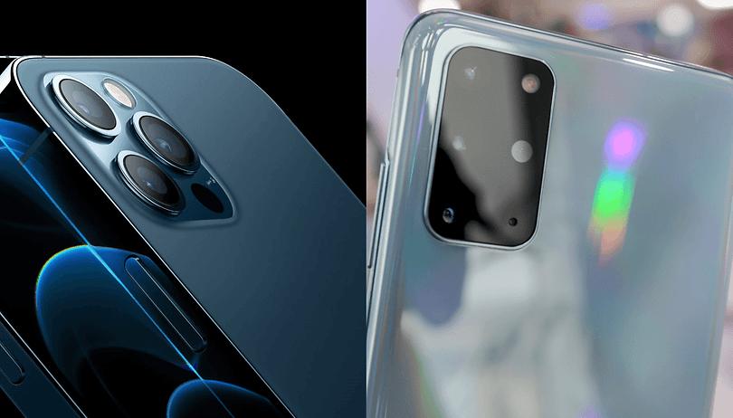 iPhone 12 Pro Max vs. Galaxy S20 Ultra: quem ganha?