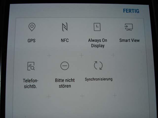 Samsung tablet bildschirm drehen