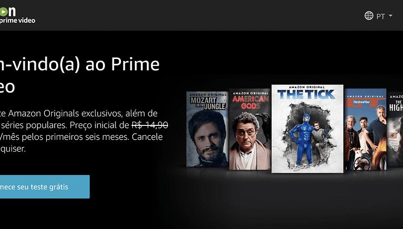 Amazon Prime Video agora tem preço em reais e menor do que a Netflix