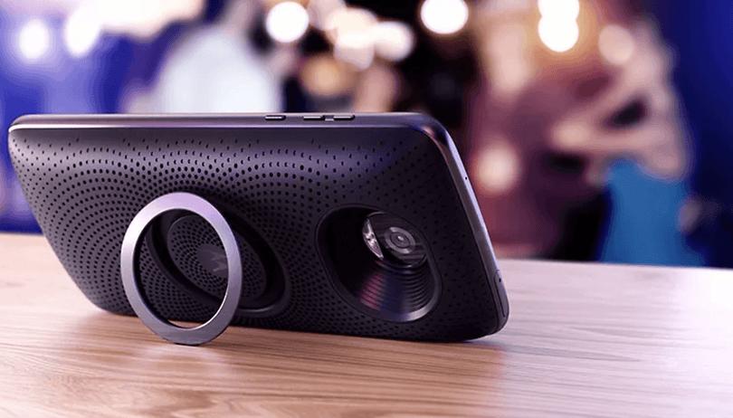 Mais um Snap para a coleção da Motorola: Stereo Speaker