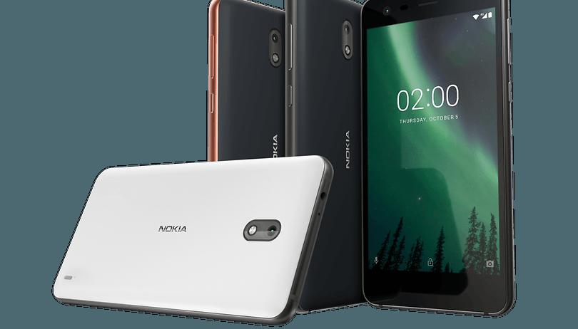 Nokia 2 é um smartphone de entrada com 1 GB de RAM e 8 GB de memória