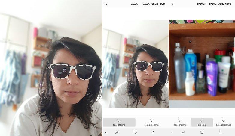 samsung camera foco