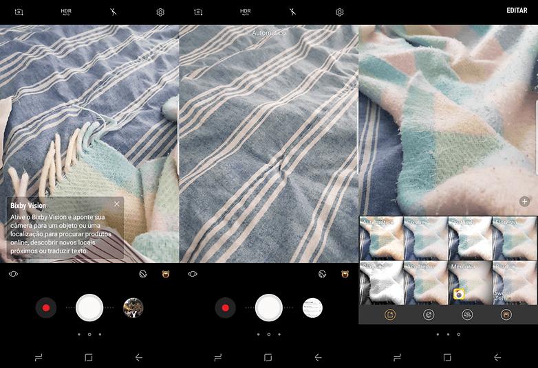samsung camera interface