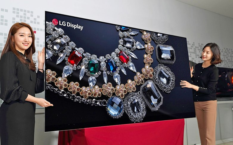 LG Display 88 inch 8K OLED Display ed