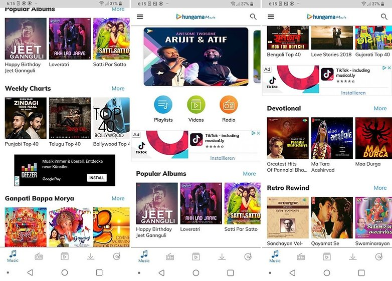 how to download music to android phone from internet