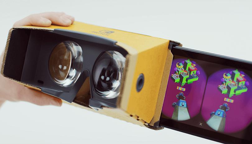 Nintendo Labo VR Kit: Die Switch wird zum Elefanten