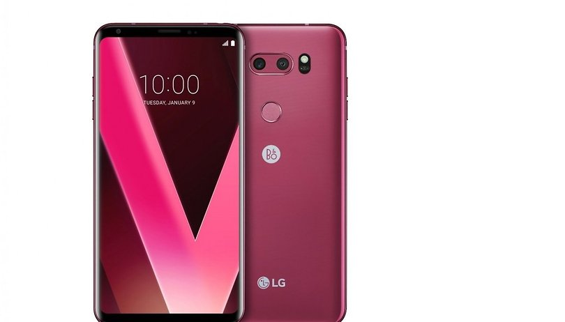LG will present new 'Raspberry Rose' LG V30 at CES 2018