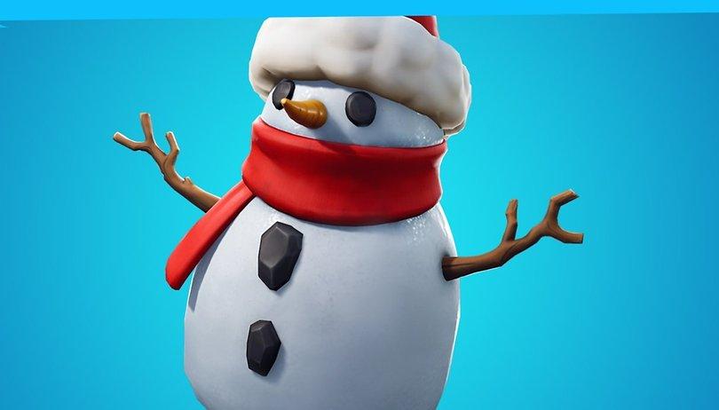 Fortnite V 7.20 : Snipey le bonhomme de neige