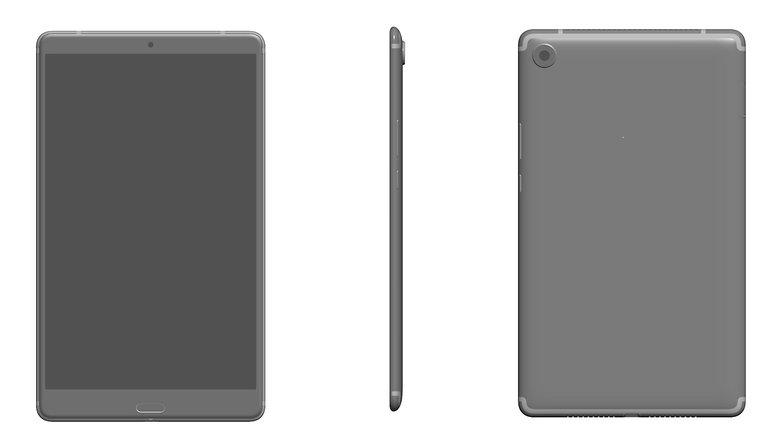 Huawei MediaPad M5 leak phonearena