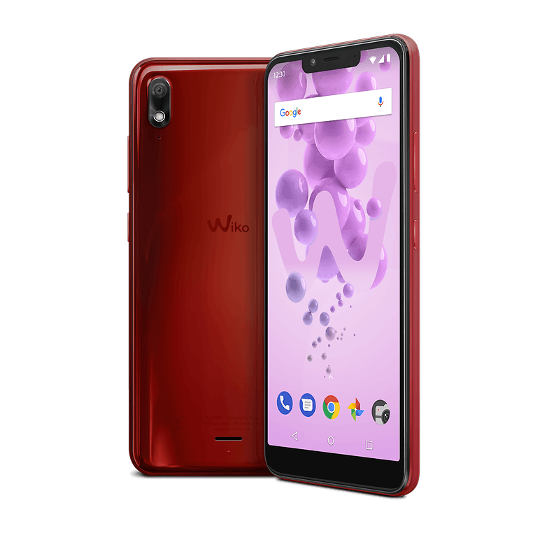 Wiko View 2 Go Cherry Red Compo 02