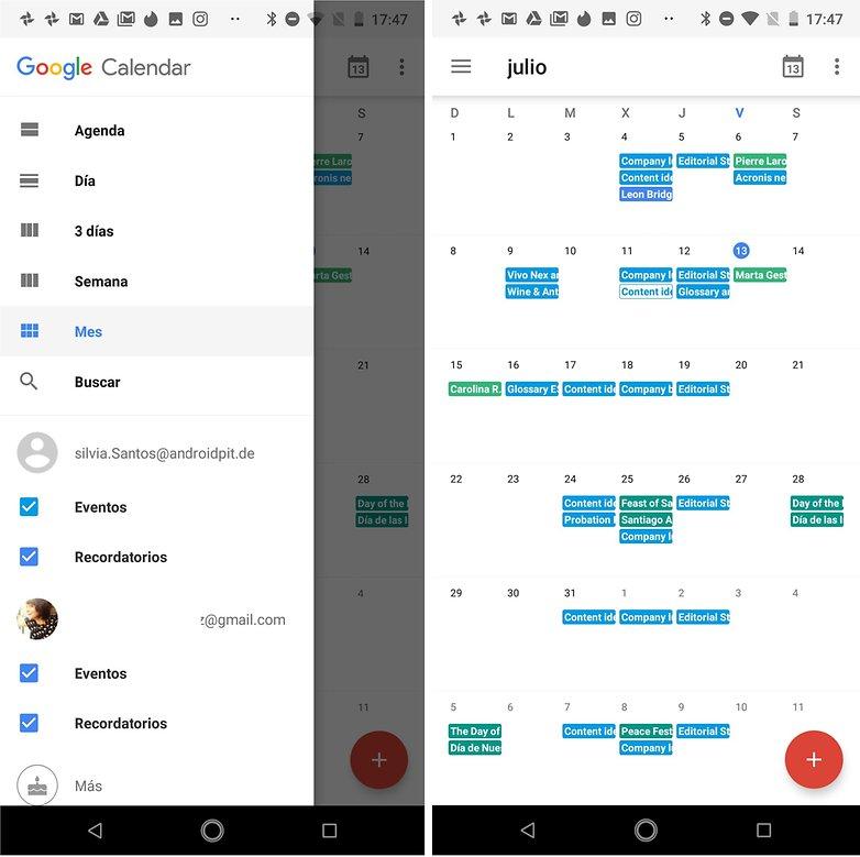 google calendar sincronizar espanol