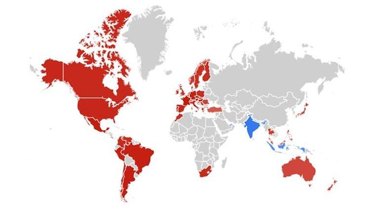 Google-Statistik: Interesse für Notre Dame höher als für Sri Lanka