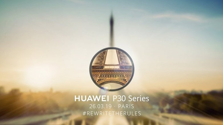 huawei event 2019 p30 series