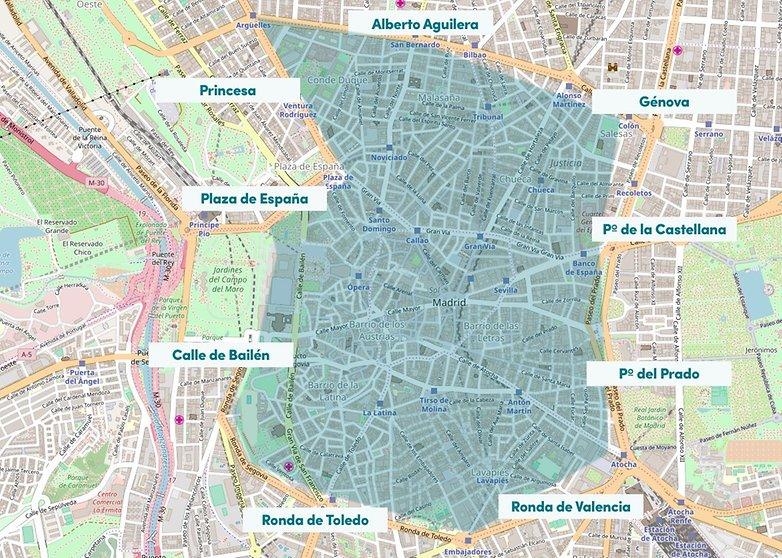 mapa APR