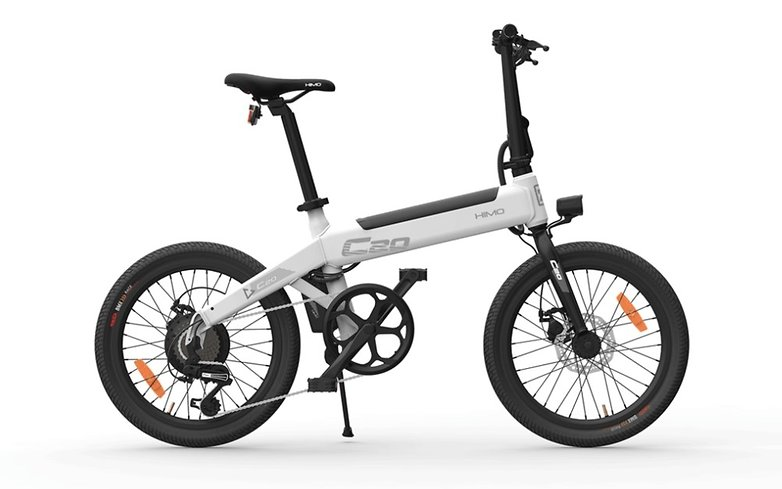 xiaomi 39 s new himo c20 electric bicycle has a range of 80 km androidpit