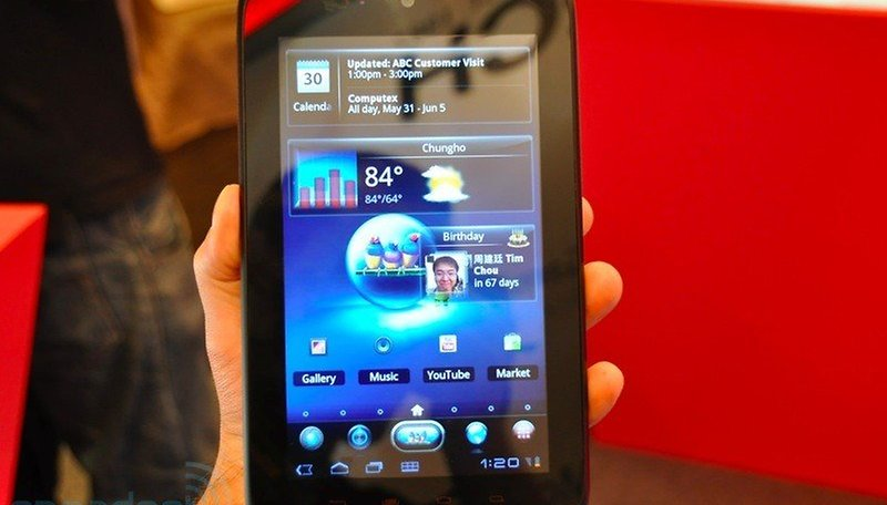 "Imágenes de ViewSonic ViewPad 7x - Tablet de 7"" con Honeycomb"