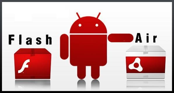 Flash Player 11 Adobe AIR compatible Android 4.0 ICS