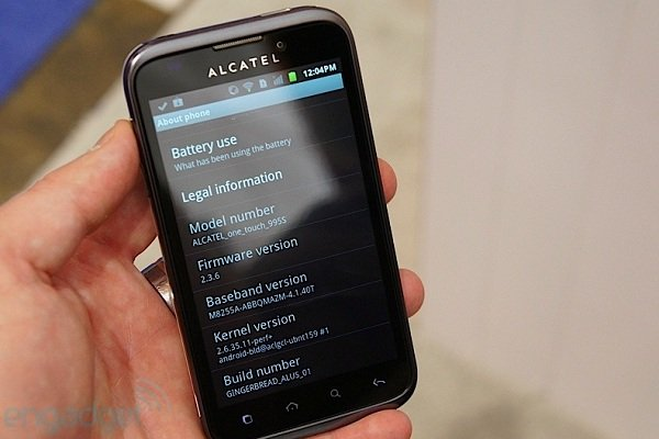 Alcatel OneTouch 995 3