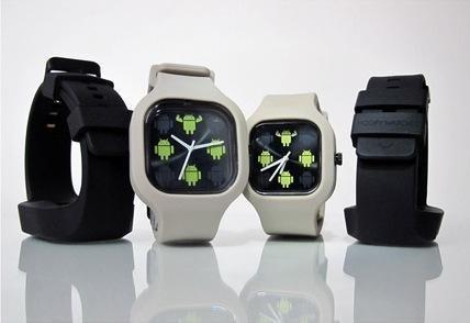 reloj oficial de android