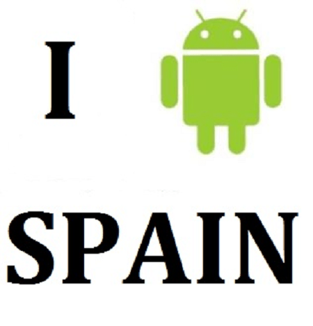 Android loves Spain