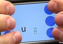 Un smartphone para ciegos y personas con poca visión