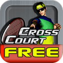 Cross Court Tennis Free android