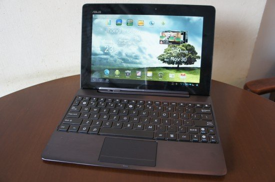 Eee Pad Transformer Prime Espana hands-on video