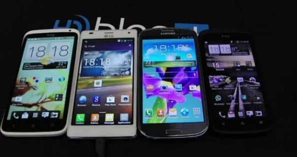 Samsung Galaxy S3, LG Optimus 4X HD, HTC One X  HTC One S