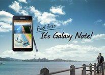 Anuncio del Samsung Galaxy Note