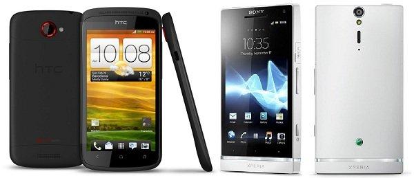HTC One S precios Sony Xperia S
