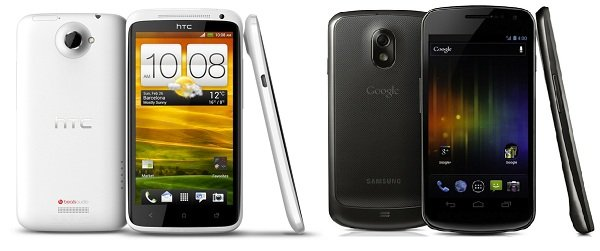 HTC One X vs. Galaxy Nexus