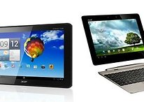 Acer Iconia Tab A510 vs Asus Eee Pad Transformer Prime