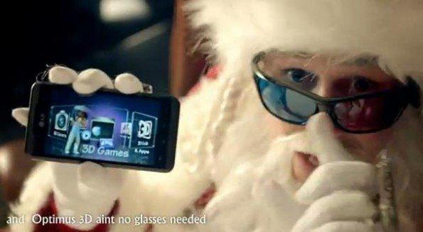 LG Optimus Papa Noel Santa Claus Sant Nikolaus