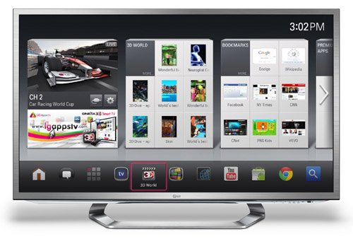 LG Google tv CES