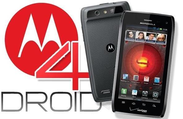 Motorola Droid 4 Milestone