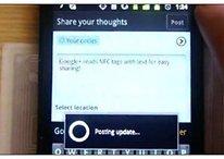 La aplicación de Google+ incluye lector de NFC