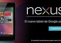 O Nexus 7 chega à Espanha, França e Alemanha