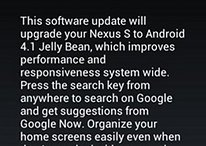 Empieza la distribución de Android 4.1.1 Jelly Bean para el Nexus S