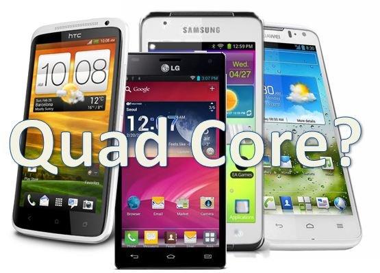 cuatro nucleos quad core procesador smartphone telefono movil rapido