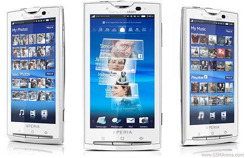 Sony Ericsson Xperia con Ice Cream Sandwich