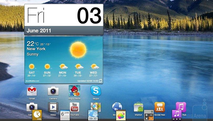 [Video] TouchWIZ UX para tablets