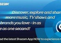 Nueva versión del Shazam 5.0 en Google Play Store