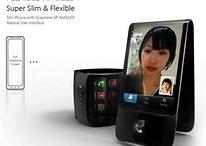 ¡Más fotos del teléfono flexible de Samsung!