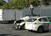El coche de Google Maps tiene un accidente