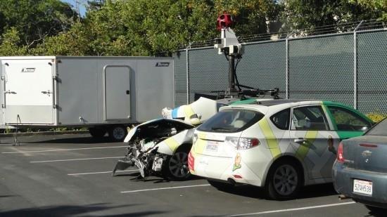 coche google maps accidente