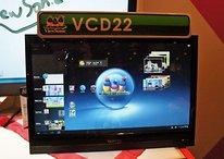"""Vídeo del ViewSonic VCD22 de 22"""" que se ejecuta con Android 4.0"""